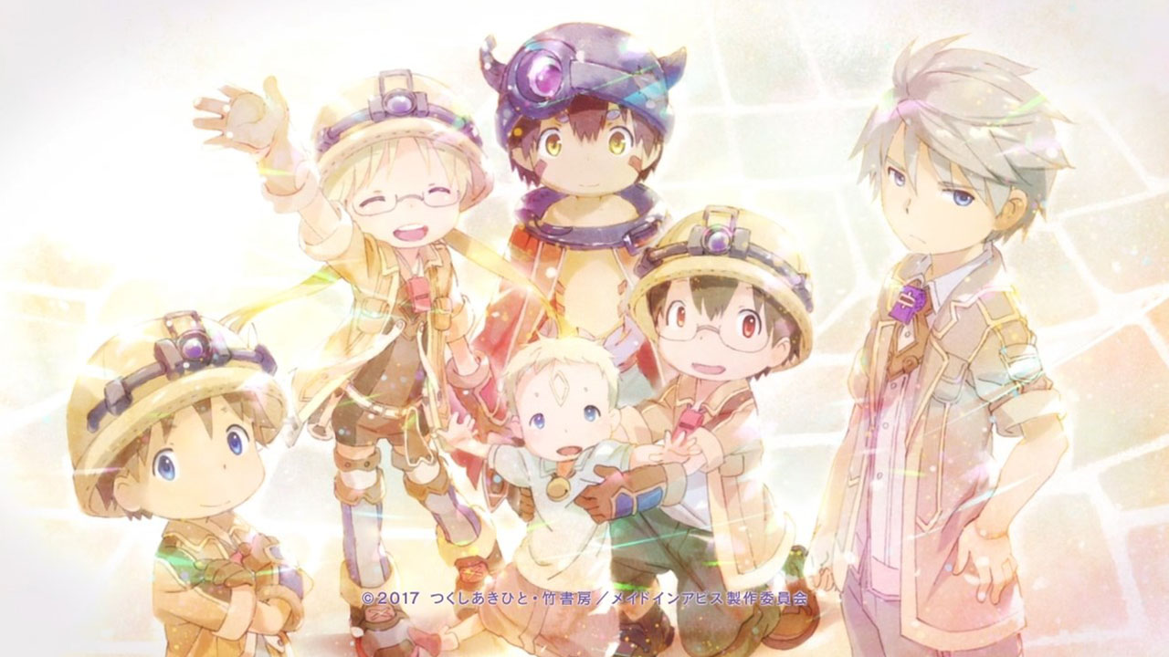 JePleureDuSang - [MANGA/ANIME] Made in Abyss Made-in-Abyss-Cast-Riko-Regu-Nat-Sigy-Gilo